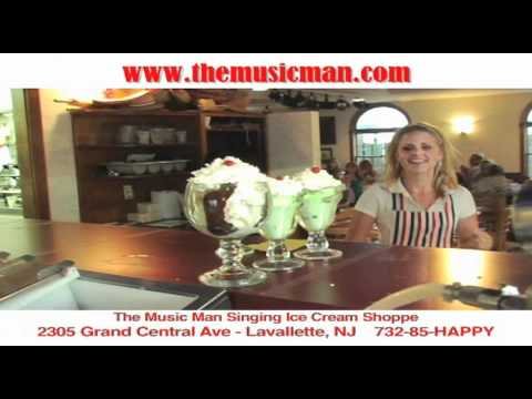 The Music Man Ice Cream Shoppe