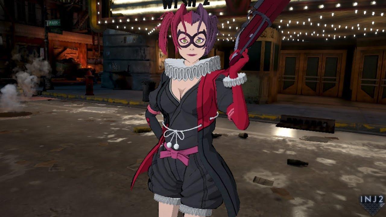 Batman Ninja Harley Quinn Injustice 2 Mobile Youtube