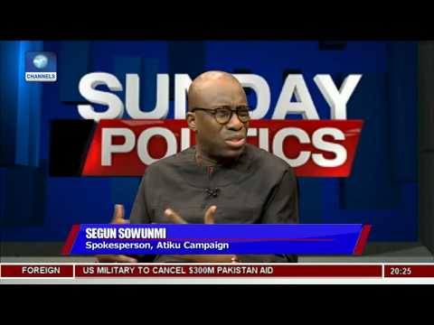 Segun Sowunmi Explains Why Atiku Shed Tears Over Issues On Ambition