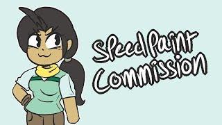 kimboweenie speedpaint commission
