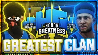 THE GREATEST CLAN EVER! ULTIMATE SUPER CREW HG MONTAGE (NBA 2K17-NBA 2K18)