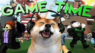 "Roblox DOGE POWER !"" where the doge squad at!! """
