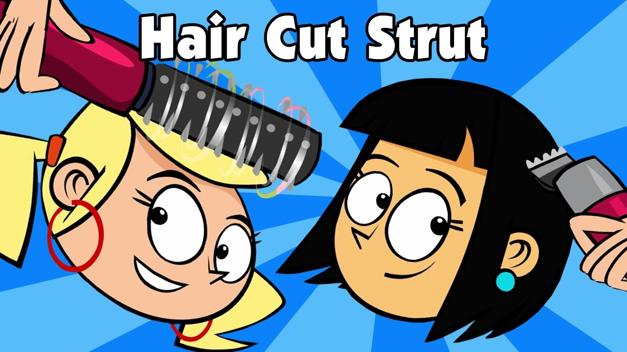 Kids Song HAIR CUT STRUT Childrens Country Music Line Dance Video By Preschool Popstars Kid Songs