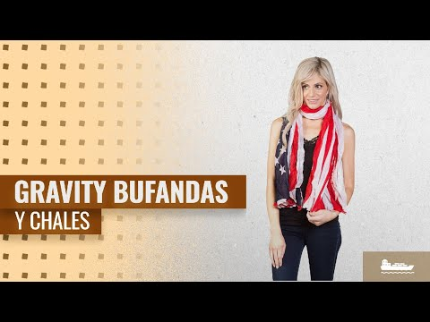 10 Mejores Gravity Bufandas Y Chales 2018: US Scarf Flag Design - FX154-36 X 28