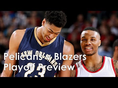 new-orleans-pelicans-v-portland-trail-blazers-playoff-preview