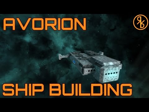 Industrial Barge Part 1 - Avorion Ship Building