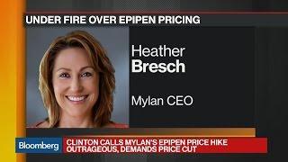 Mylan CEO Faces Calls to Explain 400% EpiPen Increase