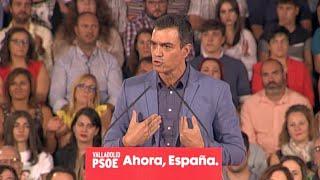 """Sánchez, sobre exhumación: """"Una gran victoria de la democracia española"""""""