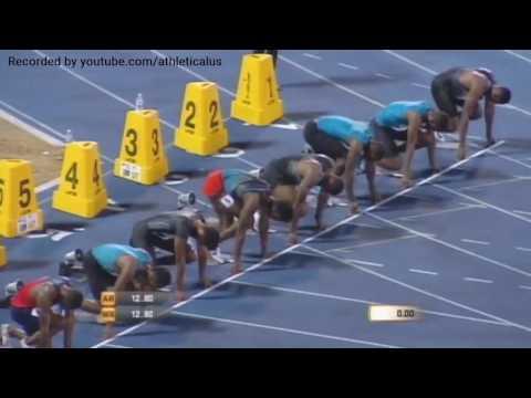 110m Hurdles Men Jamaica Racers Grand Prix 2016