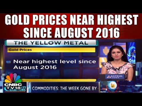 Commodity Champions | Gold Prices Near Highest Since August 2016 | CNBC TV18
