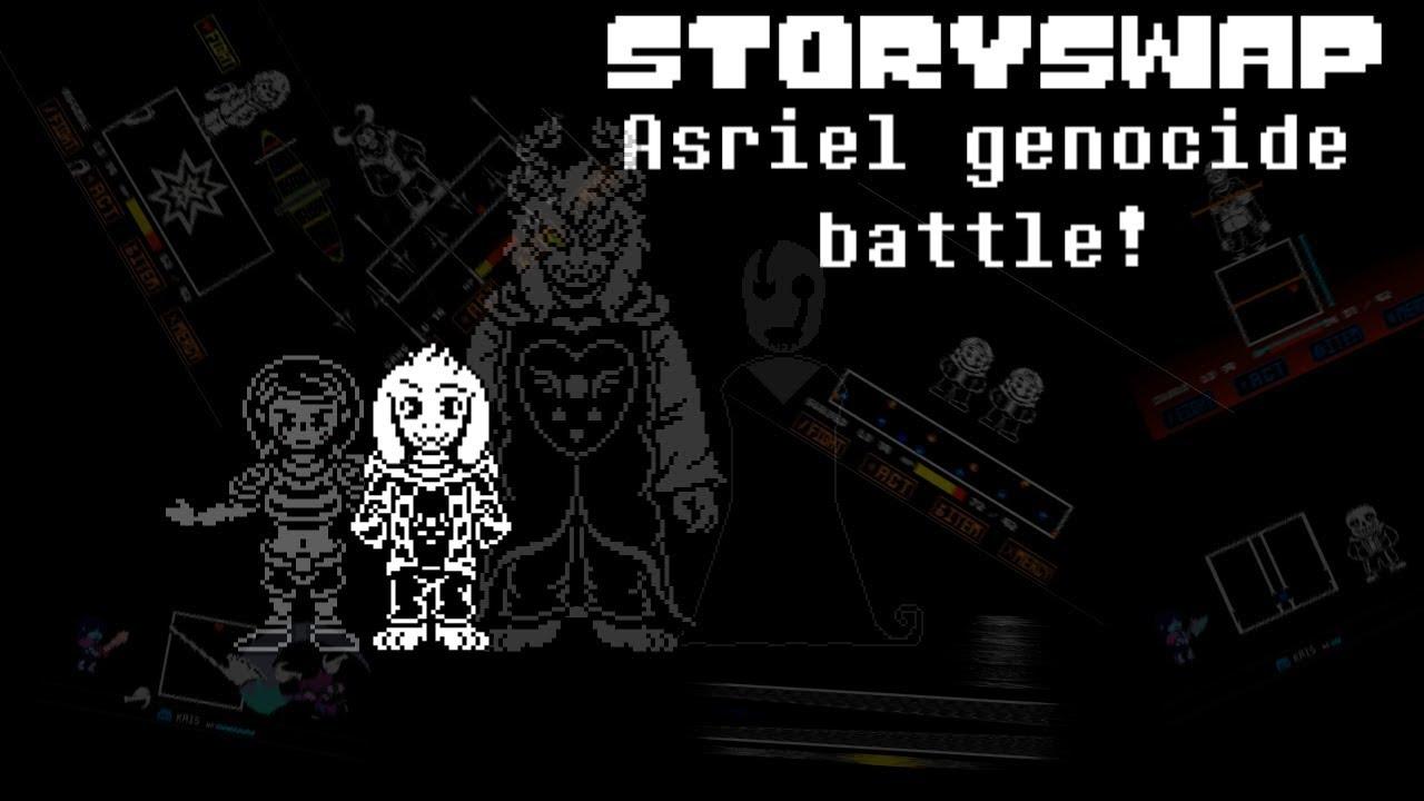 [unitale,CYF] Other version Storyswap Asriel genocide ...