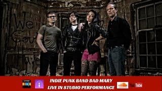 Video Indie Punk Rock Band Bad Mary Live in Studio & Interview download MP3, 3GP, MP4, WEBM, AVI, FLV Januari 2018
