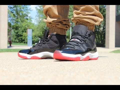 7e1e4e5da2c 2012 Jordan Bred 11 On Feet Review - YouTube