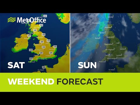 Weekend weather - will the sunshine last all weekend?