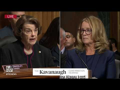 'Too often women's memories and credibility have come under assault,' Feinstein at Kavanaugh hearing