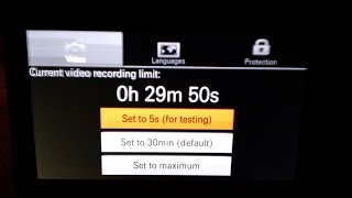 No Limit - Disable Sony Mirrorless 30 min Recording Limit
