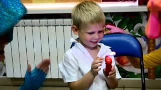 Фиксики в День Рождения в детском клубе Пещера Сказок