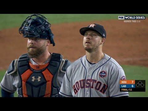 Houston Astros vs. LA Dodgers 2017 World Series Game 7 ...