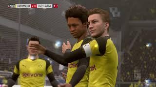 Bundesliga Highlights HD          Borussia Dortmund vs Hertha BSC     (27.10.2018)