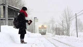 Japanese Train Stops at Remote Station Twice a Day For Only One Pas...