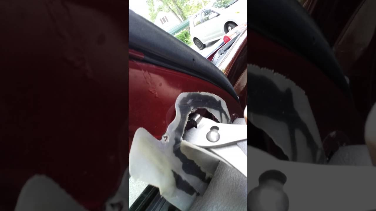 How To Fix A Lose Side View Mirror In Less Than  Minutes