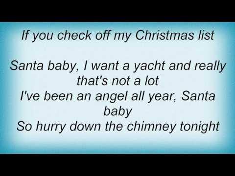 Taylor Swift - Santa Baby Lyrics