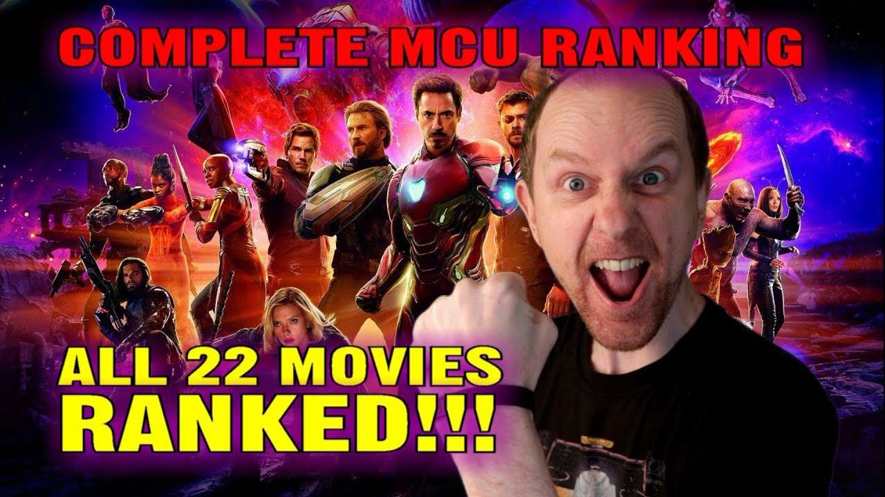Complete MCU Ranking - All 22 Marvel movies ranked