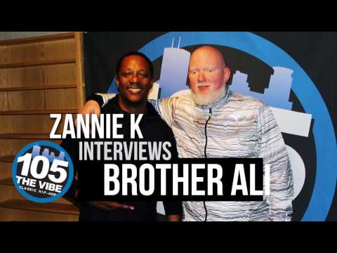 Brother Ali Interview @ 105 The Vibe Studios