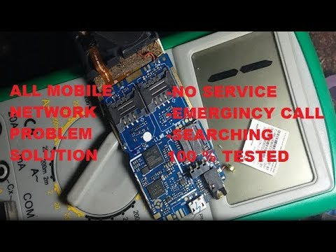 All mobile network problem solution (no service,emergency calls only) 100% solution 2019