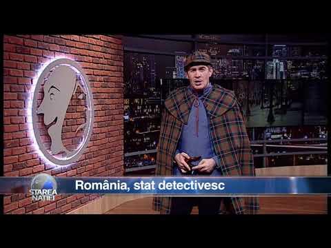 România, stat detectivesc