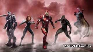 Раскол мстителей   Кто на чьей стороне  Все супергерои  Гражданская война