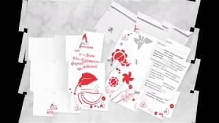 видео Цифровая печать приглашений, изготовление открыток на заказ СПб