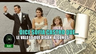 Angélica Rivera y su prole en Beverlly Hills y Sofía Castro dice que