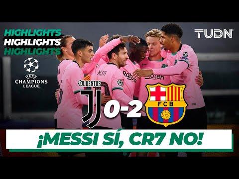 Highlights | Juventus 0-2 Barcelona | Champions League 2020/21 - J2 | TUDN