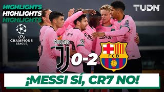 Highlights | Juventus 0-2 Barcelona | Champions League 2020/21 - J2 | TUDN