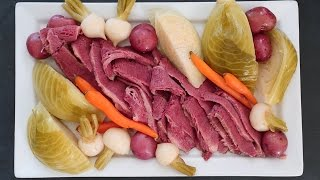 corned beef in pressure cooker