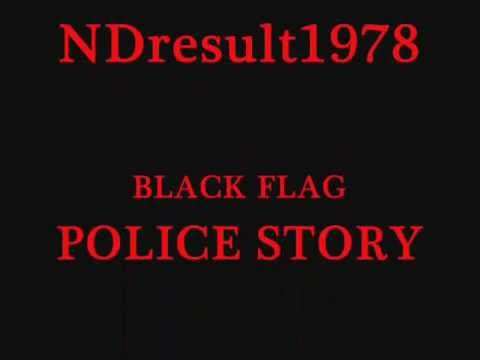 Black Flag - Police Story (Lyrics)