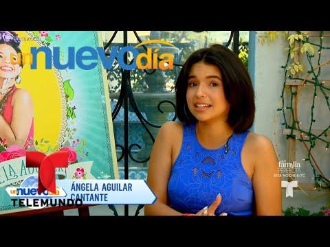 La hija de Pepe Aguilar ya piensa en su fiesta de 15 | Un Nuevo Día | Telemundo
