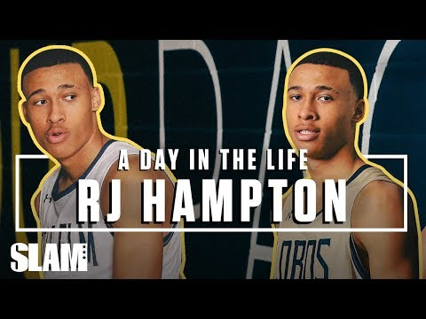 RJ Hampton: From Australia ➡️ THE LEAGUE, Ep. 1 | SLAM Day in the Life