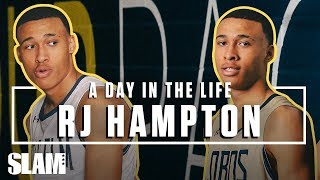 RJ Hampton: From Australia ➡️ THE LEAGUE 🏀 Ep. 1 | SLAM Day in the Life
