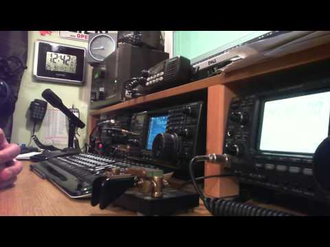 EI2KC works Gus W4SXT in Florida using 100 watts on 40 metres