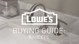 How To Choose The Right Faucet | Buying Guide