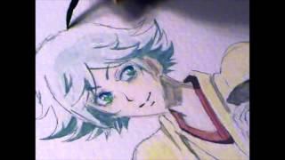 Mizuki Watercolor Drawing
