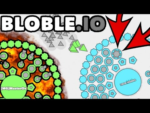 Bloble.io INSANE NEW UPDATE DRONE CONTROL & NEW ARMORY!! THE NEW DIEP.IO/AGAR | TOP PLAYER/HIGHSCORE