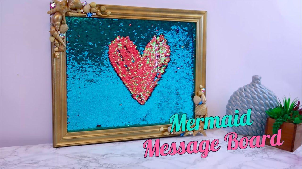 Mermaid Message Board Hg Craft Hellogiggles Youtube