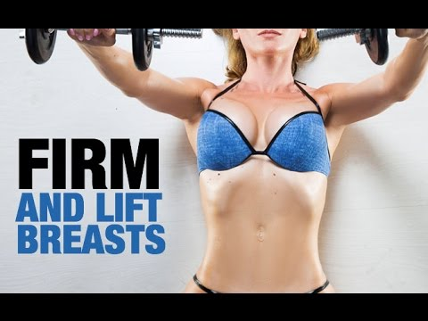 5 Best Chest Exercises for Women (FIRM AND LIFT THE BREASTS!!)