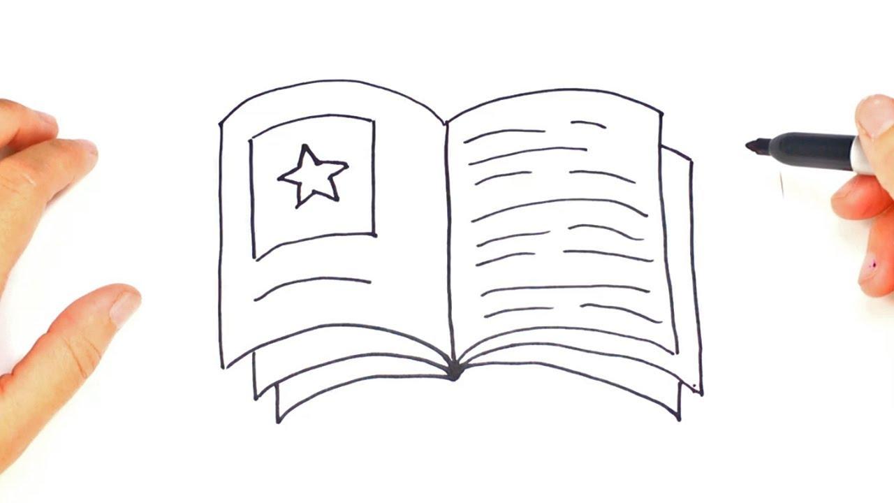 Dibujos Para Colorear De Libro Y Libreta: Como Dibujar Un Libro