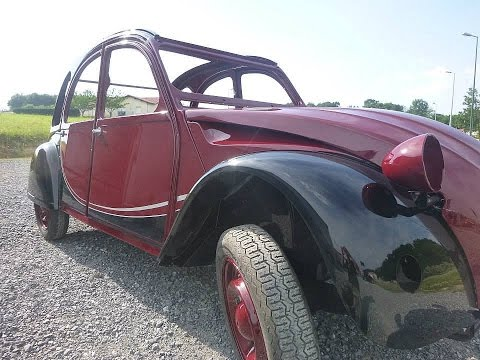 2cv charleston restauration