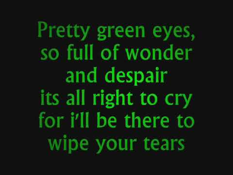 Ultrabeat -  Pretty green eyes Lyrics