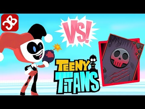 Teeny Titans HARLEY QUEEN in Justice League - INTENSE CHALLENGE - iOS / Android - Gameplay Video